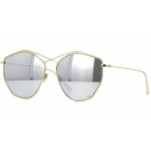 Dior Round Style Gray/Silver Mirrored Lens